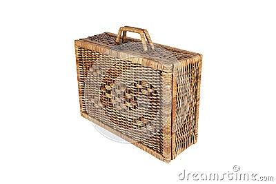 Rattan weave bag