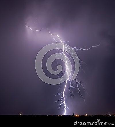 Rattlesnake Pass Lightning