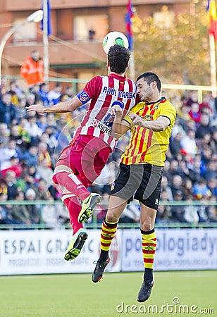 Raul Garcia of Atletico de Madrid Editorial Stock Image