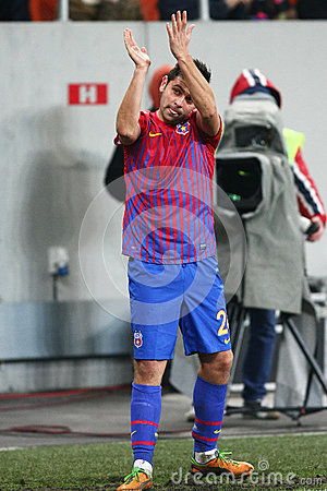 FC Steaua Bucharest- FC Gaz Metan Medias Editorial Image