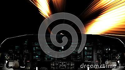 Raumschiff Geschwindigkeit