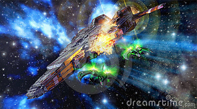 Raumschiffkampf
