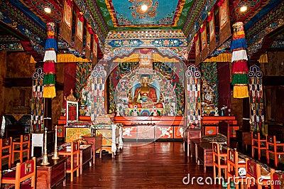 Ravangla Monastery interiors
