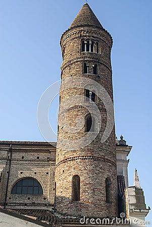 Ravenna - Old belfry