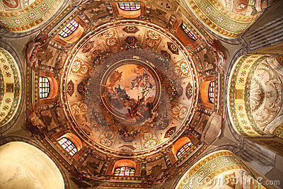 Ravenna, San Vitale, mosaic, Italy