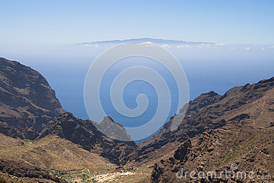 Ravine of Masca and La Gomera