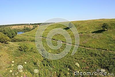 Ravine in Ryazan