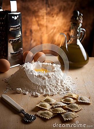 Ravioli Homemade pasta