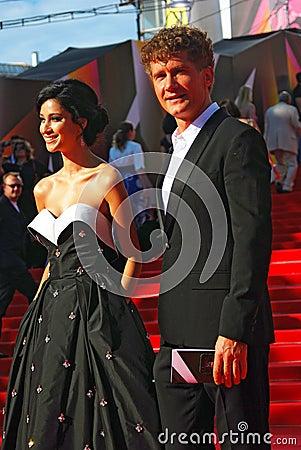 Ravshana Kurkova at Moscow Film Festival Editorial Stock Image