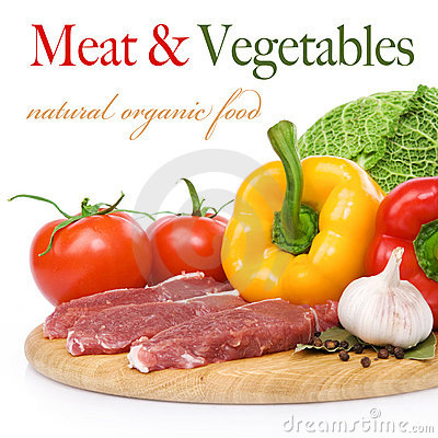 Free Raw Beef And Ingredients Stock Photos - 19761453