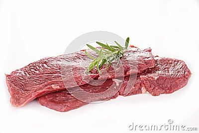 Raw beefsteak