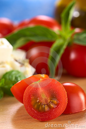 Free Raw Cherry Tomato Stock Photography - 20042082