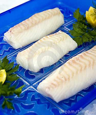 Free Raw Cod Fillet Stock Photo - 11401280