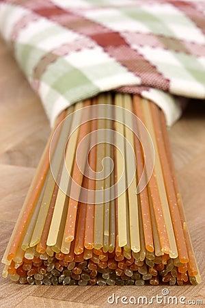 Free Raw Colorful Spaghetti Stock Photos - 18959953