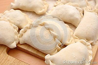 Raw curds (fruit dumplings).