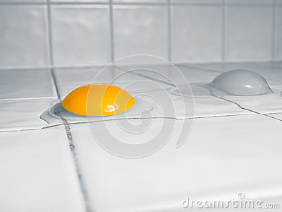 Raw Eggs kitchen counter