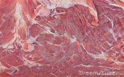 Raw meat texture