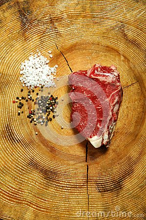 Raw New York Strip Steak