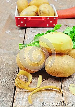 Free Raw Potatoes Stock Photo - 23569690