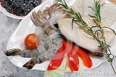 Raw seafood 1