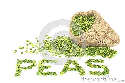 Raw Split Green Peas
