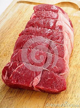 Raw Steak Roast
