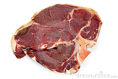 Raw T Bone Steak