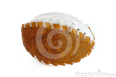 Rawhide Football Pet Chew Toy