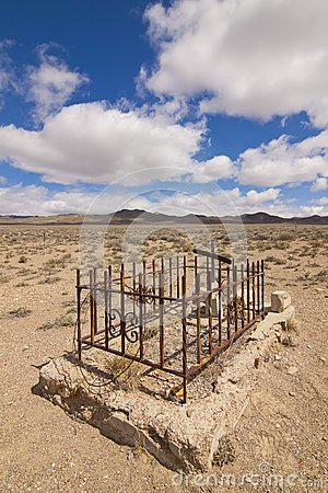 Rawhide Ghost Town Grave Site