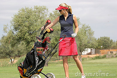 Rawson, Ladies European Tour, Castelllon, 2006 Editorial Image