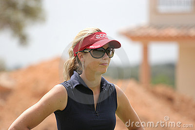 Rawson, Ladies European Tour, Castelllon, 2006 Editorial Stock Image