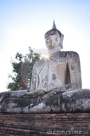 Ray of buddha