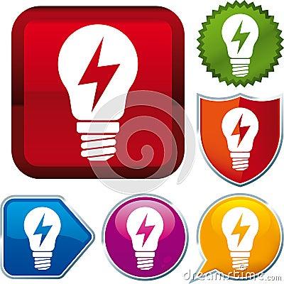 Ray energy icon