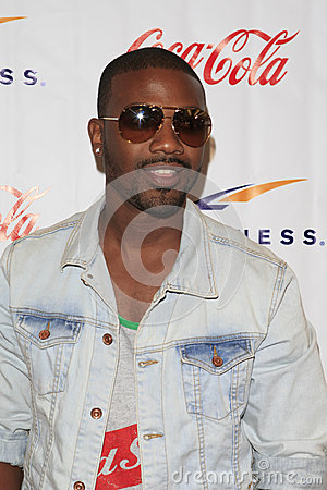 Ray J Grand Opening Celebrity VIP Reception of the FIRST SIGNATURE LA FITNESS CLUB Editorial Image