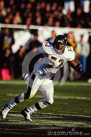 Ray Lewis Baltimore Ravens Editorial Image