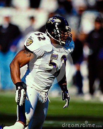 Ray Lewis Baltimore Ravens Editorial Photo
