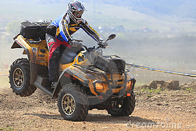 Raza de ATV Foto editorial