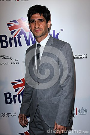 Raza Jaffrey at the Official Launch of BritWeek, Private Location, Los Angeles, CA 04-24-12 Editorial Photography