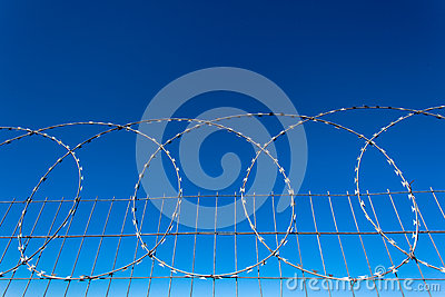Razor Wire Steel Fence