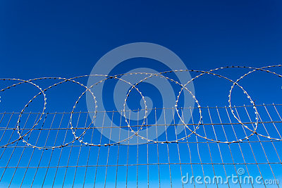 Razor Wire Steel Fencing