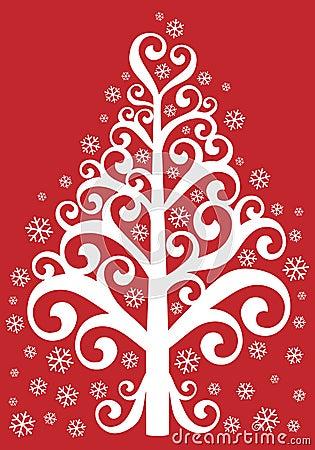 Árbol de navidad ornamental