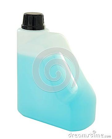 Récipient en plastique de gallon