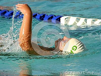 Rückenschwimmen-Schwimmen