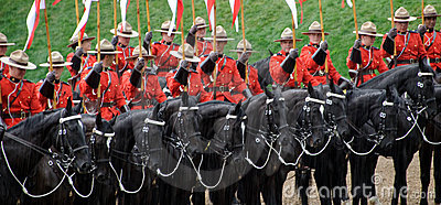 RCMP Editorial Stock Image