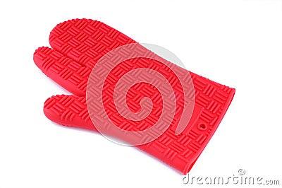 Röd handske