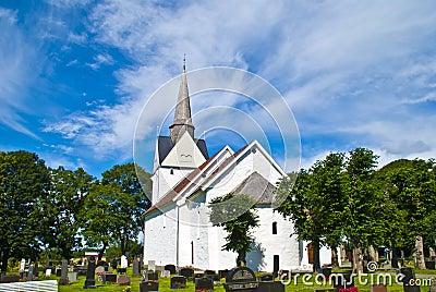 Råde church (east south-east).