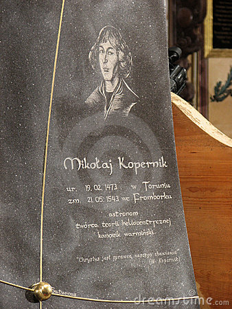 Re-burial of Nicolaus Copernicus in Frombork Editorial Photo