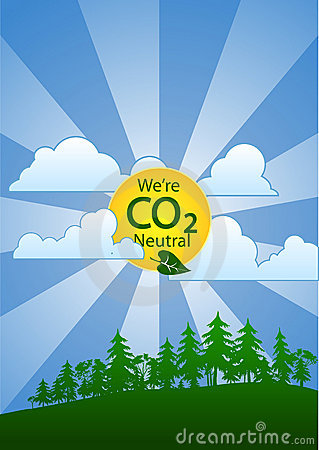 We re Carbon (CO2) Neutral (portrait)