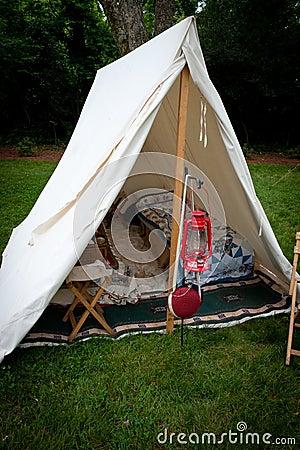 Re-enactment Tent