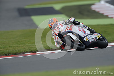 Rea de Gino, moto 2, 2012 Fotografía editorial